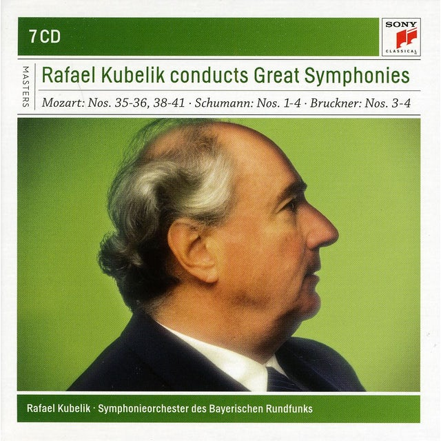 Rafael Kubelik GREAT SYMPHONIES CD