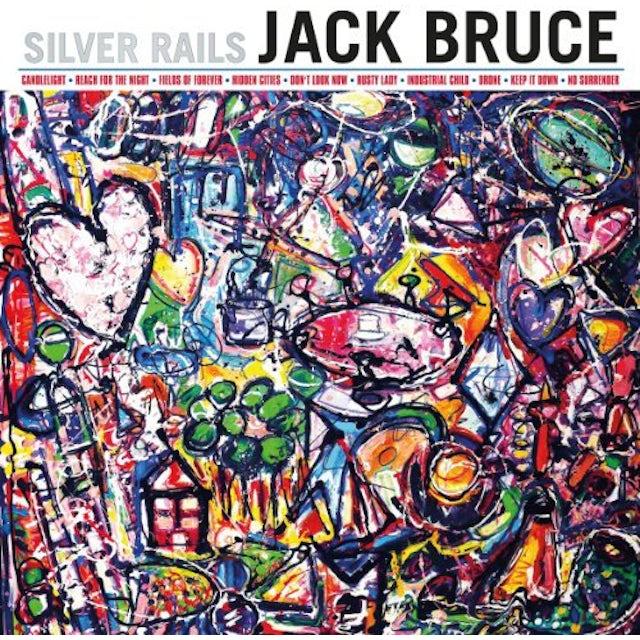 Jack Bruce SILVER RAILS: 180GRAM VINYL EDITION Vinyl Record - 180 Gram Pressing