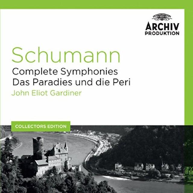 John Eliot Gardiner COLL ED: SCHUMANN - COMPLETE SYMPHONIES / DAS PARA CD