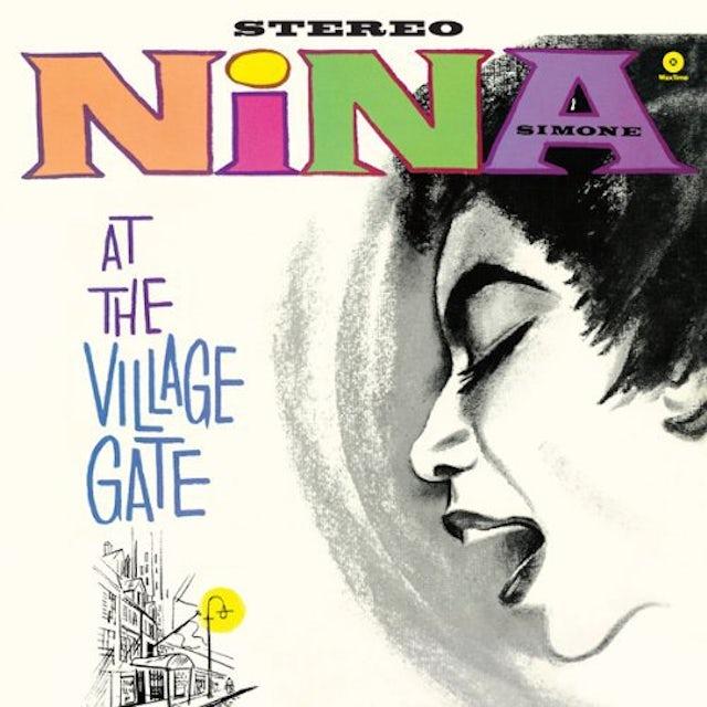 Nina Simone AT THE VILLAGE GATE Vinyl Record - Spain Release