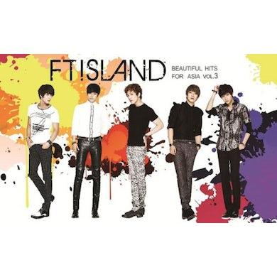 FTISLAND BEAUTIFUL HITS FOR ASIA 3 CD