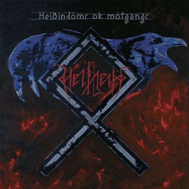 Helheim HEIOINDOMR OK MOTGANGR Vinyl Record