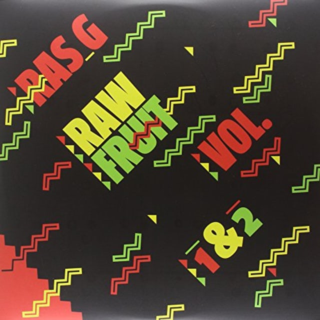 Ras G RAW FRUIT VOL 1-2 Vinyl Record - Digital Download Included