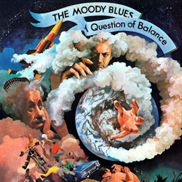 The Moody Blues QUESTION OF BALANCE Vinyl Record