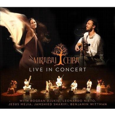 Mirabai Ceiba LIVE IN CONCERT CD