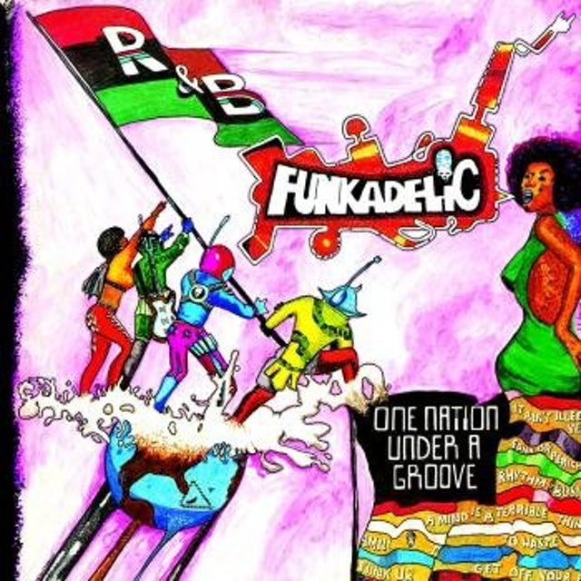 Funkadelic ONE NATION UNDER A GROOVE Vinyl Record
