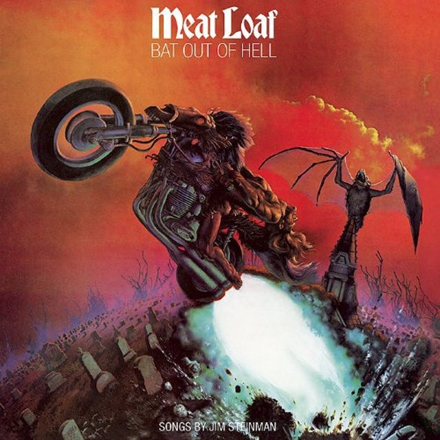 Meat Loaf BAT OUT OF HELL Vinyl Record - Holland Release