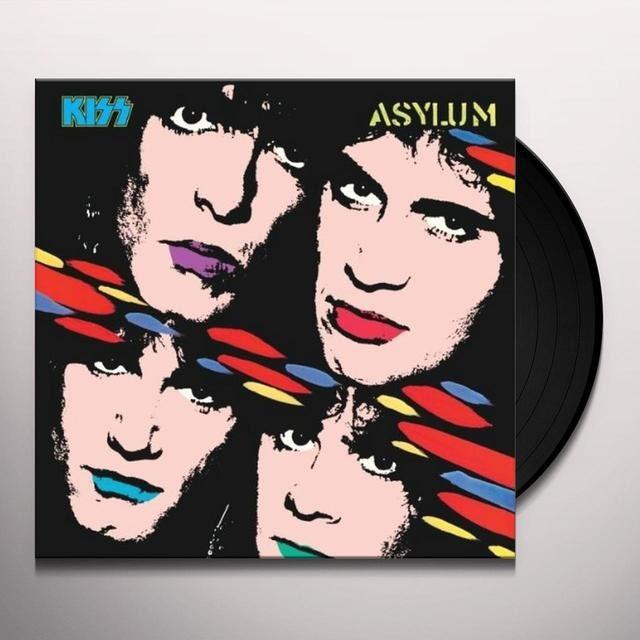 Kiss ASYLUM Vinyl Record