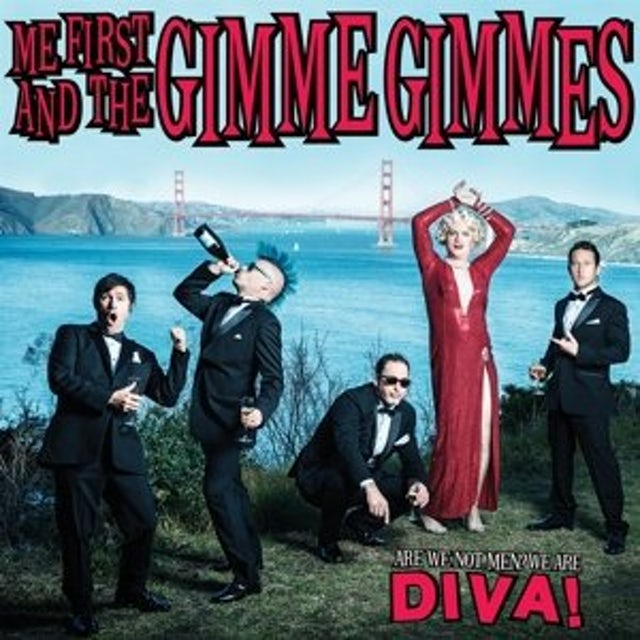 Me First and the Gimme Gimmes ARE WE NOT MEN WE ARE DIVA Vinyl Record