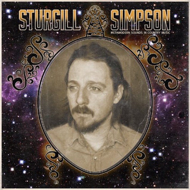 Sturgill Simpson METAMODERN SOUNDS IN COUNTRY MUSIC Vinyl Record