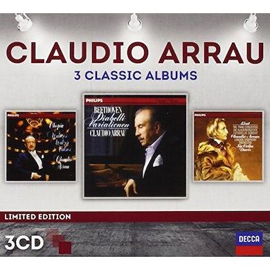 Claudio Arrau THREE CLASSIC ALBUMS CD