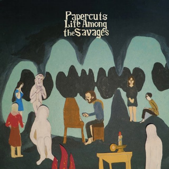 Papercuts LIFE AMONG THE SAVAGES Vinyl Record