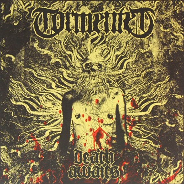 Tormented DEATH AWAITS Vinyl Record