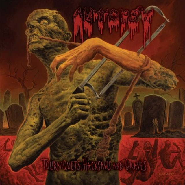 Autopsy TOURNIQUETS HACKSAWS & GRAVES Vinyl Record