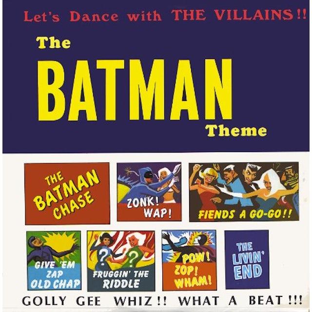 Batman Theme DANCE WITH THE VILLAINS Vinyl Record