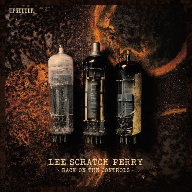 Lee Scratch Perry BACK ON THE CONTROLS Vinyl Record