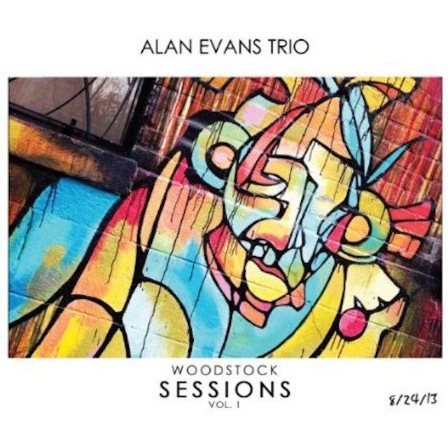 Alan Evans WOODSTOCK SESSIONS 1 CD