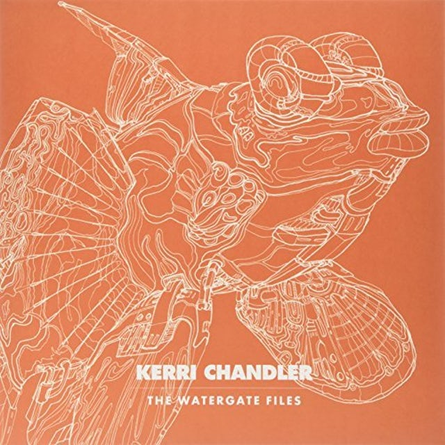 Kerri Chandler WATERGATE FILES Vinyl Record