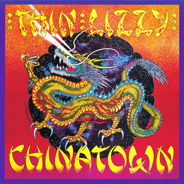 Thin Lizzy CHINATOWN Vinyl Record