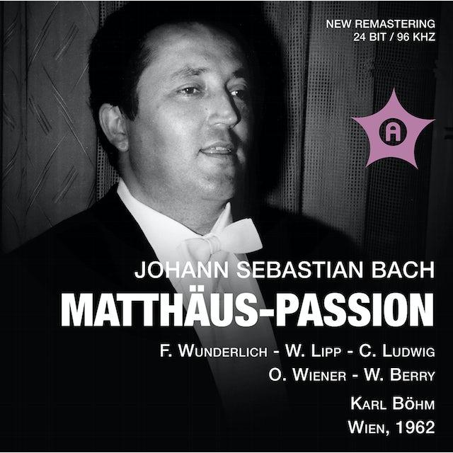J.S. Bach ST MATTHAUS-PASSION CD