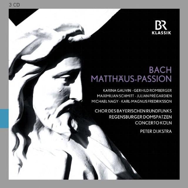 J.S. Bach ST MATTHEW PASSION BWV 244 CD