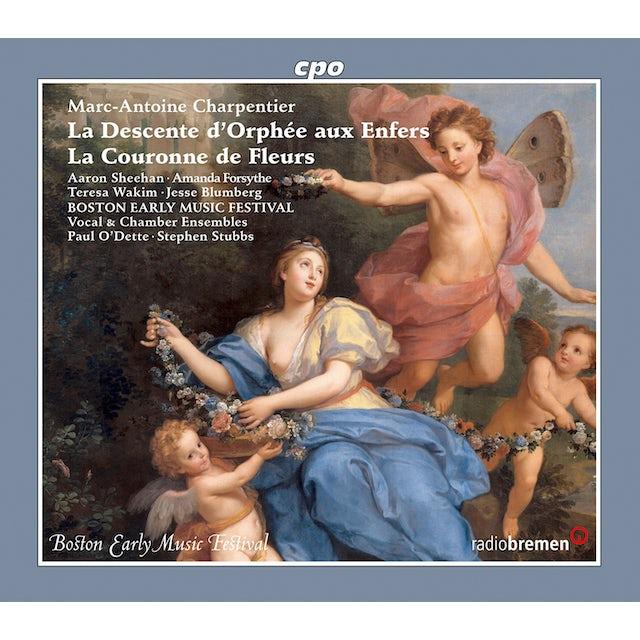 Charpentier LA DESCENTE D ORPHEE AUX ENFERS / LA COURONNE DE CD