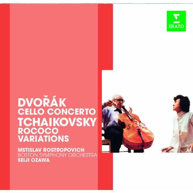 Dvorak ERATO STORY - CELLO CON OP104 / ROCOCO VARIATIONS CD