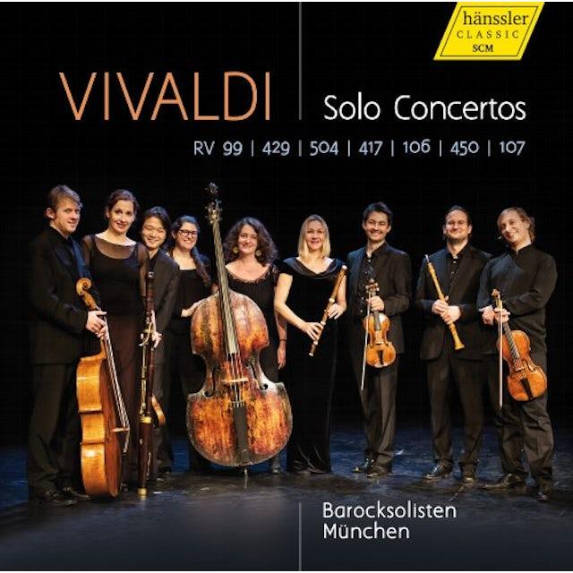 Vivaldi SOLO CONS CD
