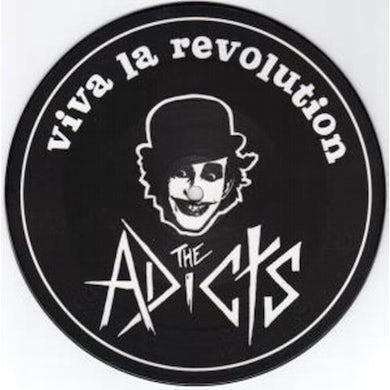 The Adicts VIVA LA REVOLUTION-JOKER IN THE PACK Vinyl Record