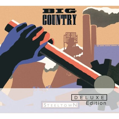 Big Country STEELTOWN CD
