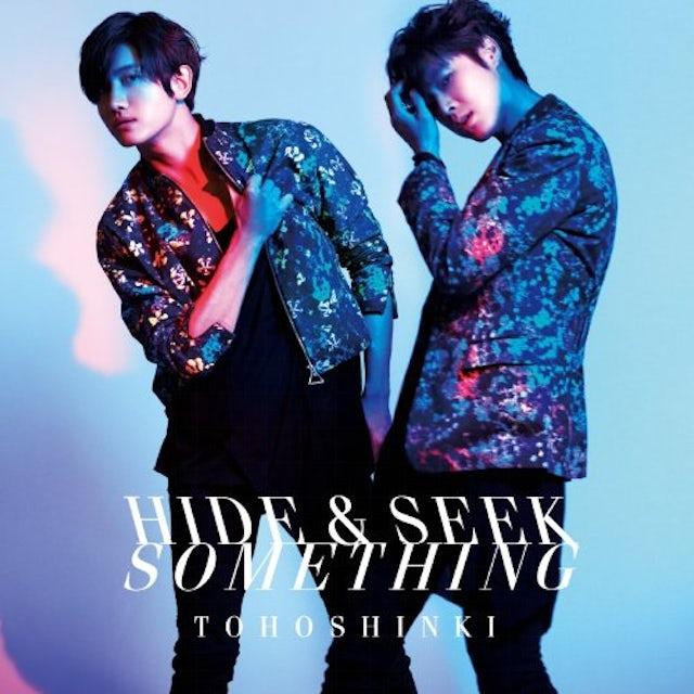 Tohoshinki HIDE & SEEK/SOMETHING CD