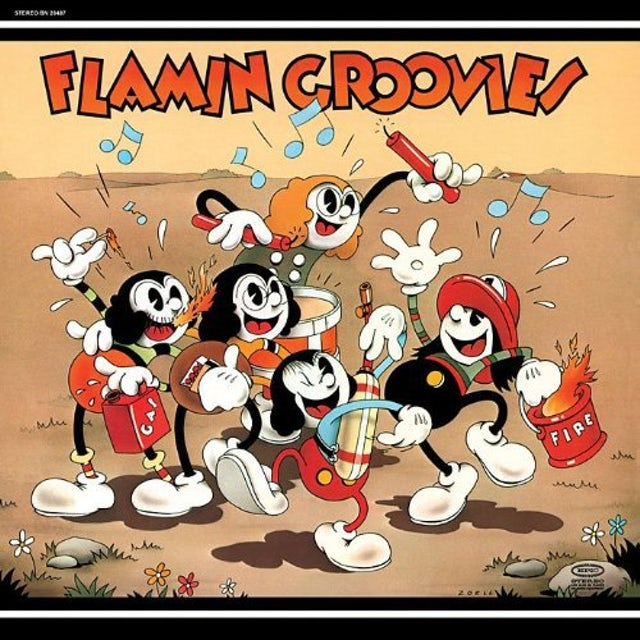 Flamin Groovies SUPERSNAZZ Vinyl Record