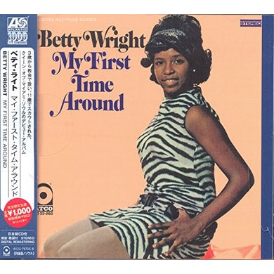Betty Wright MY FIRST TIME AROUND CD