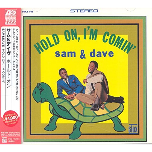 Sam & Dave HOLD ON I'M COMING CD