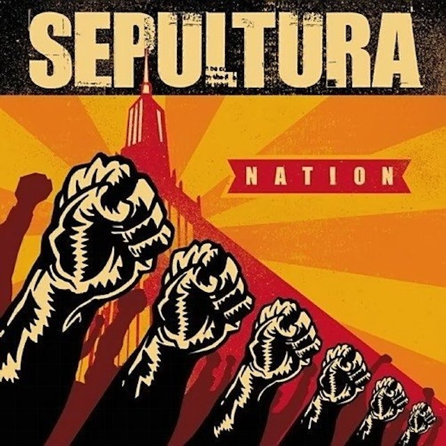 Sepultura NATION Vinyl Record