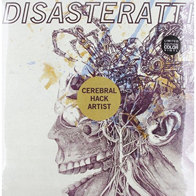 Disasteratti CEREBRAL HACK ARTIST Vinyl Record