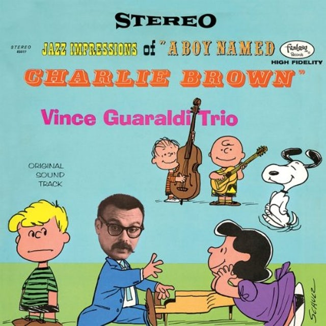 Vince Guaraldi JAZZ IMPRESSIONS OF A BOY NAMED CHARLIE BROWN Vinyl Record