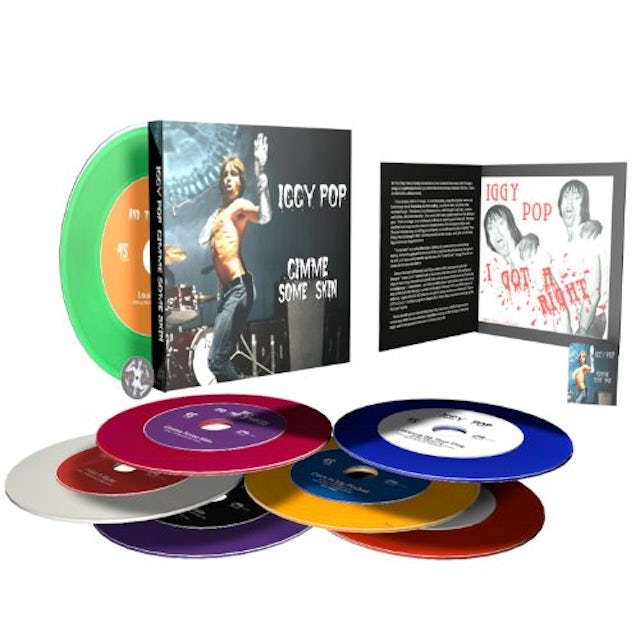 "Iggy Pop ""Gimme Some Skin"" Limited Edition 7"" Box Set (Vinyl)"