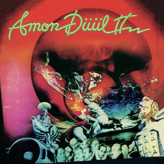 Amon Duul Ii DANCE OF THE LEMMINGS Vinyl Record