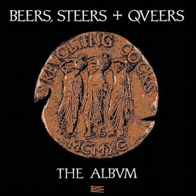Revolting Cocks BEERS STEERS & QUEERS Vinyl Record
