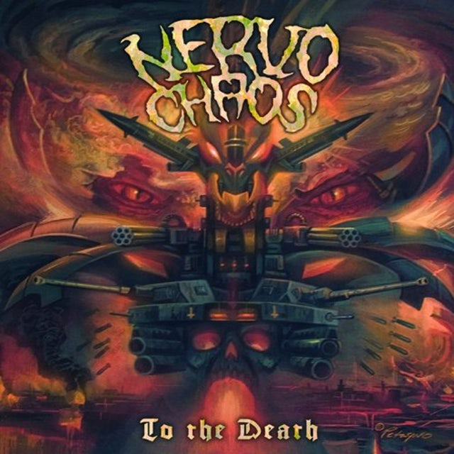 Nervochaos TO THE DEATH Vinyl Record