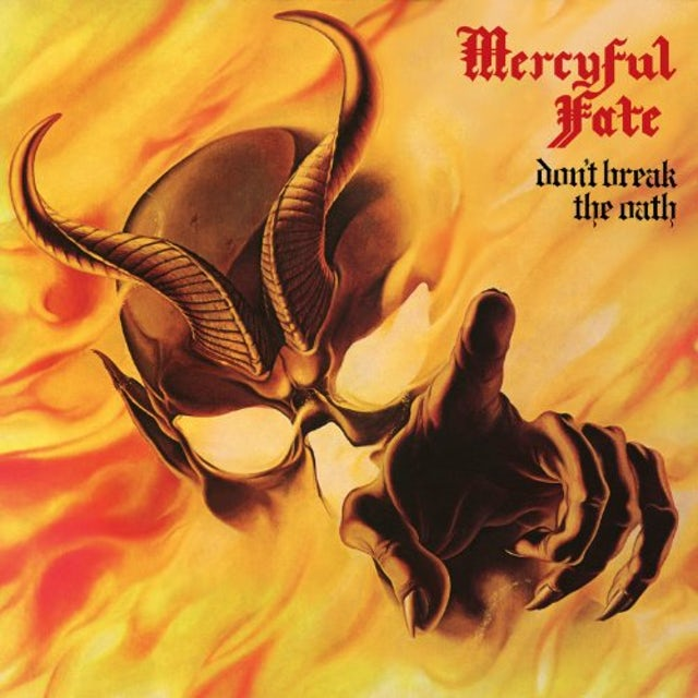 Mercyful Fate DON'T BREAK THE OATH Vinyl Record