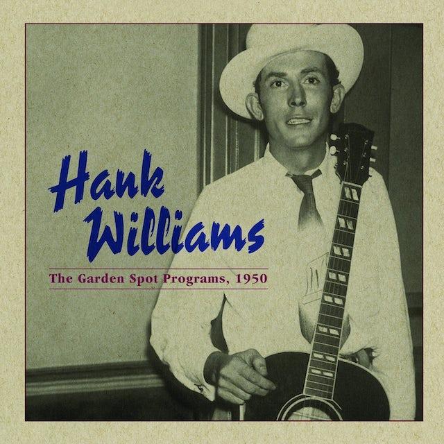 Hank Williams GARDEN SPOT PROGRAM 1950 Vinyl Record