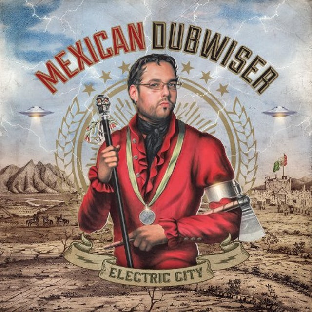 Mexican Dubwiser ELECTRIC CITY CD