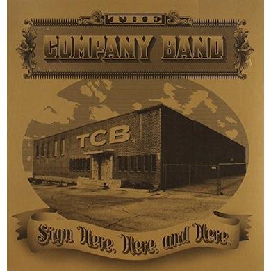 Company Band SIGN HERE HERE & HERE CD
