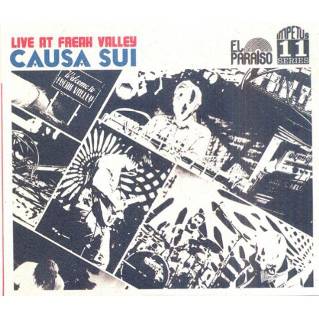 Causa Sui LIVE AT FREAK VALLEY Vinyl Record