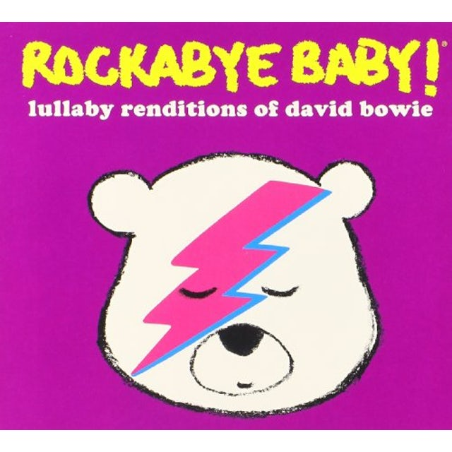 Rockabye Baby LULLABY RENDITIONS OF DAVID BOWIE CD