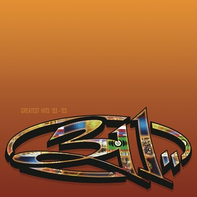 311 GREATEST HITS 93-03 CD