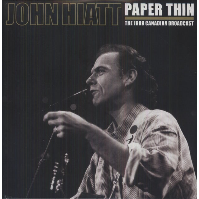 John Hiatt PAPER THIN Vinyl Record
