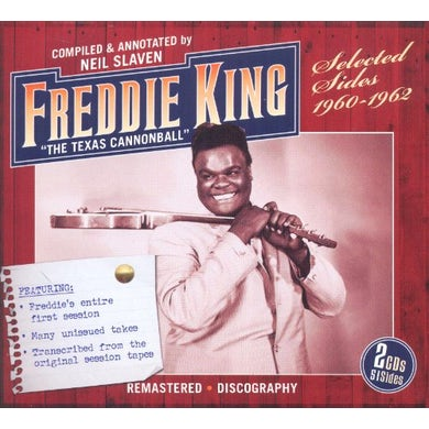 Freddie King TEXAS CANNONBALL: SELECTED SIDES 1960-62 CD
